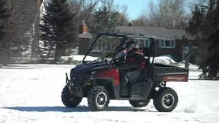 6. Brand new 2011 Polaris Ranger 800 Limited Edition Sunset red