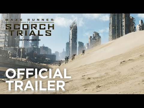 Maze Runner The Scorch Trials Official Trailer