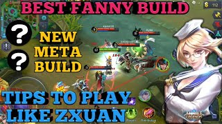 Download Video PLAY LIKE ZXUAN | FANNY BEST BUILD | FANNY BEST ITEM | FANNY TOP 1 BUILD | MOBILE LEGENDS FANNY MP3 3GP MP4