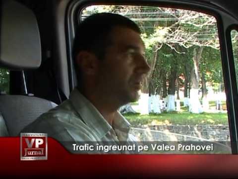 Trafic îngreunat pe Valea Prahovei