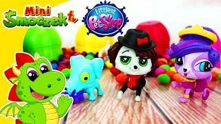 Littlest Pet Shop vs Ugglys Pet Shop | Zoe Trent i Jajka Niespodzianki | Zabawki Bajki Dla Dzieci