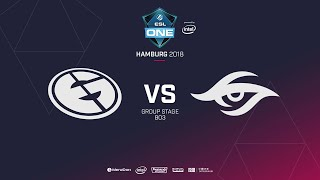 Evil Geniuses  vs Team Secret, ESL  One Hamburg, bo3, game 2 [Adekvat & Maelstorm]