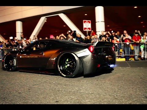 GTchannel - Liberty Walk Ferrari 458 and GReddy Scion FR-S are some of the cars that shined at the 2013 SEMA Show. http://www.youtube.com/user/ebaymotors http://www.yout...