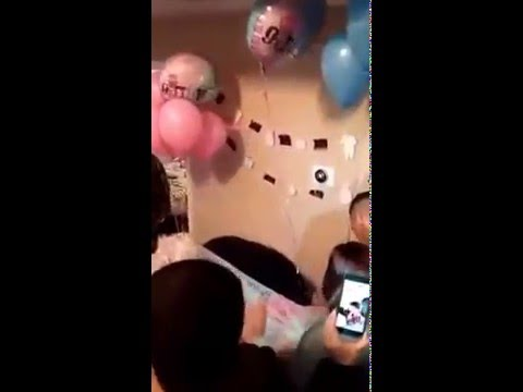 Dad With Four Daughters Faints When He Finds Out He's Having a Son! [Video]