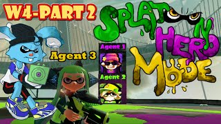 Hey guys! Seems we now have Agents 1 & 2 tagging along for the journey now! Let's get rollin' and save Cuttlefish!!!