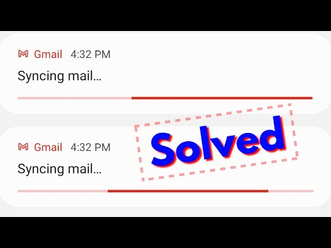 How To Stop Syncing Mail Notification Problem - Fix Gmail Not Sending Emails