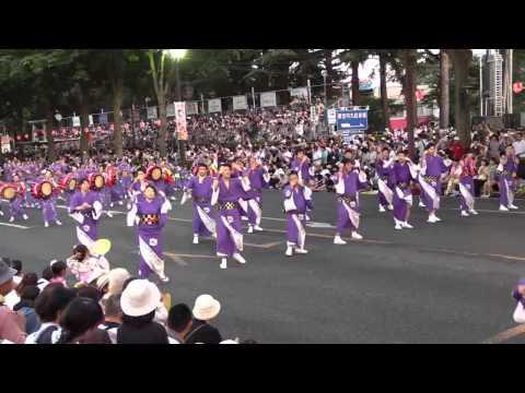 盛岡さんさ踊り2014~ランデックグループwithアイリス保育園