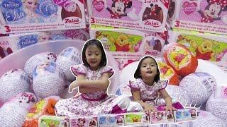 Video Unboxing Surprise Zaini Eggs 3D Collections Inside Frozen Elsa, Minnie, Winnie the Pooh MP3, 3GP, MP4, WEBM, AVI, FLV September 2017