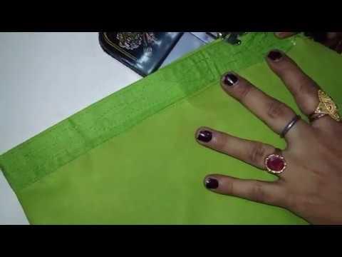 Semi Patiala Salwar Cutting and Stitching