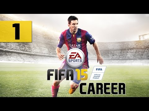 """FIFA 15 - Career - Let's Play - Part 1 - [Create-A-Player] - """"Loaned To Kilmarnock"""""""