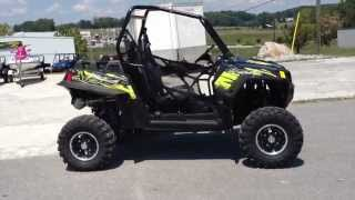 3. 2013 Polaris Ranger RZR XP 900 LE in Stealth Black and Evasive Green at Tommy's MotorSports