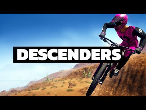DESCENDERS PC Review - Early Access Downhill MTB Mountain Bike Game (видео)