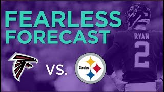 Atlanta Falcons at Pittsburgh Steelers Week 5 fantasy preview | #FearlessForecast