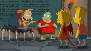 La casita del Horror Ezequiel Caffaro/DC - Los Simpson Latino no españa ni grabado de la tele Tags: The Simpsons, Die Simpsons, Les Simpson, Los Simpson, I S...