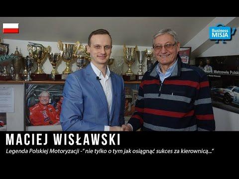 Maciej Wisławski w Business Misja - Inspirujące wywiady z ludźmi sukcesu