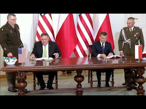 Συμφωνία ενισχυμένης αμυντικής συνεργασίας Ουάσινγκτον – Βαρσοβίας…