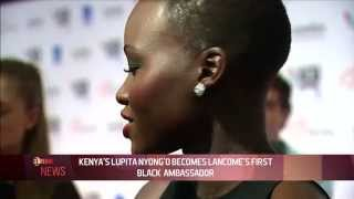 KENYA'S LUPITA NYONG'O BREAKS  RECORD AS FIRST BLACK AMBASSADOR FOR BEAUTY GIANT LANCOME-EL NOW.