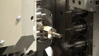 バランスカットによる加工時間短縮対向配置刃物台搭載NN-32DB