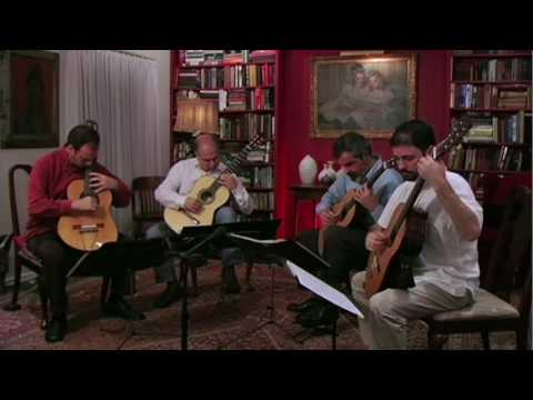 guitarquartet - The Brazilian Guitar Quartet performs El Albaicin from Suite: Iberia by Albeniz. This arrangement can be found on the album