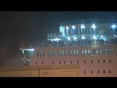 """Δηλώσεις επιβατών του πλοίου """"Ελευθέριος Βενιζέλος"""""""