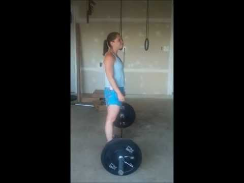 Barbell Transition from the Floor to Back Squat