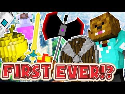FIRST EVER MINECRAFT MODDED UHC - OVERPOWERED WEAPONS AND ARMOR MOD MINIGAME (видео)