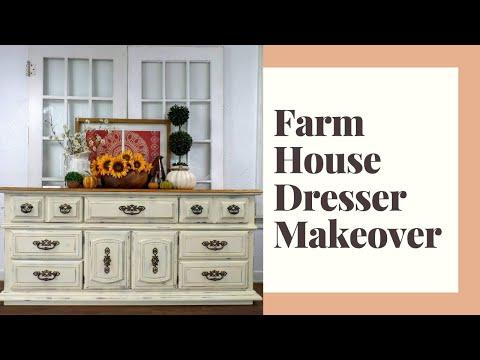 Farm House Dresser Makeover, part 2