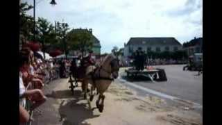 A traditional market day in Schagen with horse and buggy....ringsteken...enjoy.