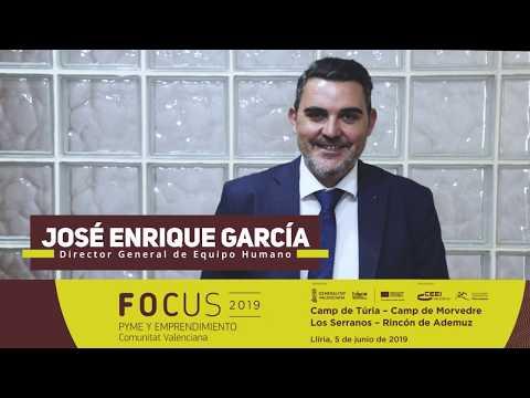 José Enrique García Llop, de Equipo Humano. Focus Pyme y Emprendimiento Llíria 2019[;;;][;;;]