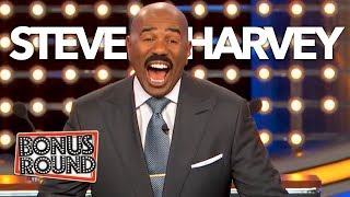 Video Funniest Steve Harvey Questions & Answers On Family Feud | Bonus Round MP3, 3GP, MP4, WEBM, AVI, FLV September 2018