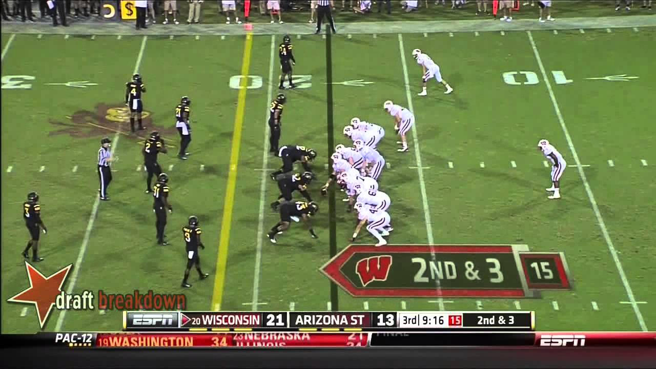 Carl Bradford vs Wisconsin (2013)