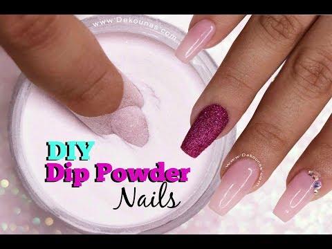 Videos de uñas - DIY Dip Powder Nails  Deko Uñas