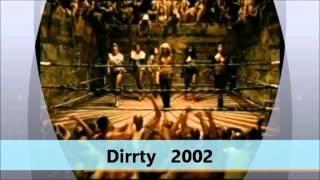 Christina Aguilera - Music Video Evolution ( 1998 - 2012 )