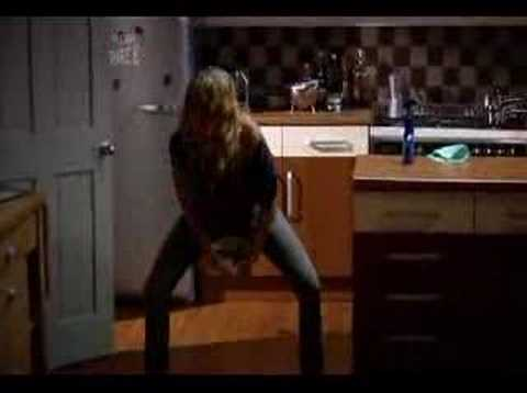 Man Stroke Woman: How women get away with farting:  A funny clip from a British comedy.