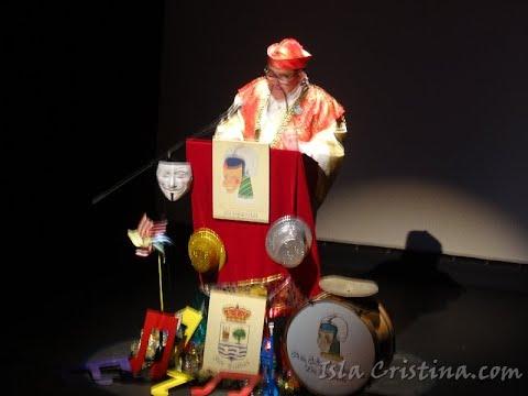 Pregón Carnaval de Isla Cristina 2019 a Cargo de D José Manuel Escobar