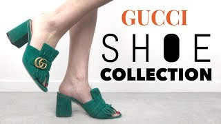 Video MY GUCCI SHOE COLLECTION + TRY ON | Mel in Melbourne MP3, 3GP, MP4, WEBM, AVI, FLV Juni 2018