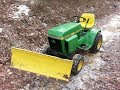 New Model 43 Snow Blade for the Deere 210