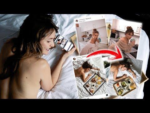 IMITANDO FOTOS DE YOUTUBERS  Roenlared