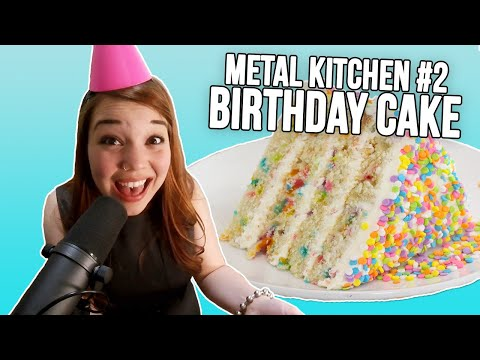 The most metal Happy Birthday... ever.