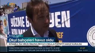 Gaziosmanpaşa'da Havuz Keyfi - Ntv