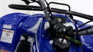 8. Yamaha Wolverine Ride video
