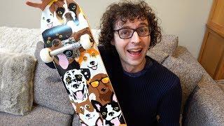 Ollie On A Skateboard - 1 Week Challenge
