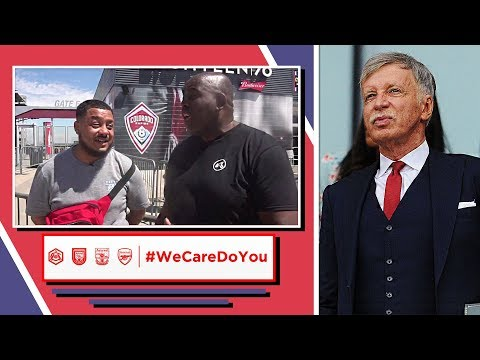 We Care Do You? Arsenal Fans Send Strong Message To Stan Kroenke!