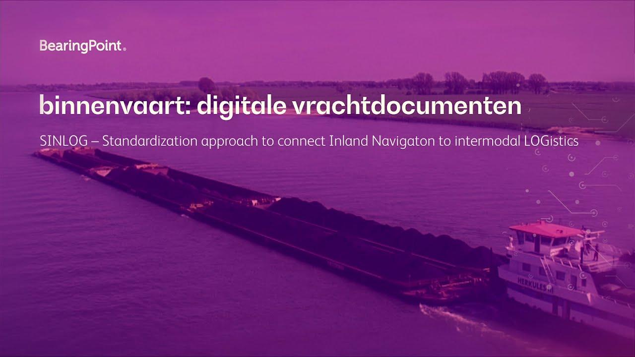 SINLOG –Digital Shipping Documents (Dutch)