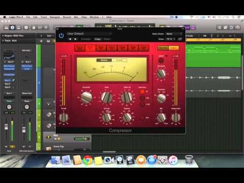 How to mix kick drum metal band. Logic pro X