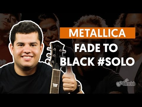 Fade to Black – Metallica (How to Play – Guitar Solo Lesson)