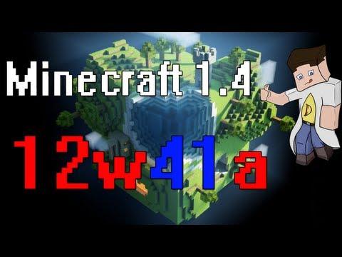 Minecraft 1.4 (12w41a) - Обзор. ThePowerfulDeeZ