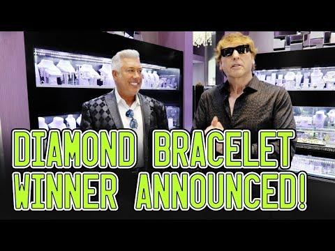 $10,000 Diamond Bracelet Giveaway Winner ANNOUNCED!