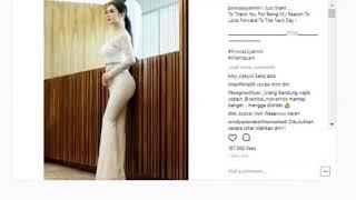 Pamer Bodi 'Cantik', Netizen Nasehati Syahrini Begini