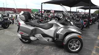 5. 001962 - 2012 Can Am Spyder RT S   SM5 - Used motorcycles for sale